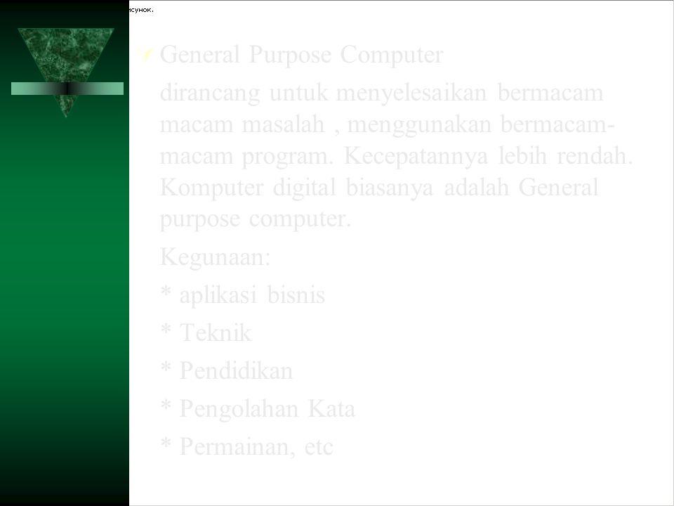 General Purpose Computer