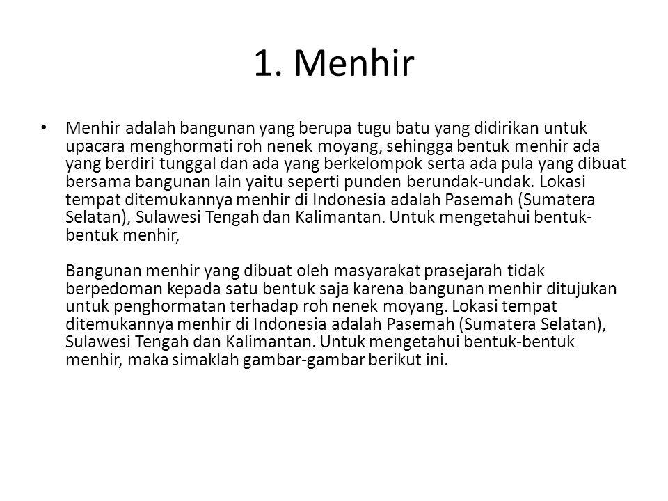 1. Menhir