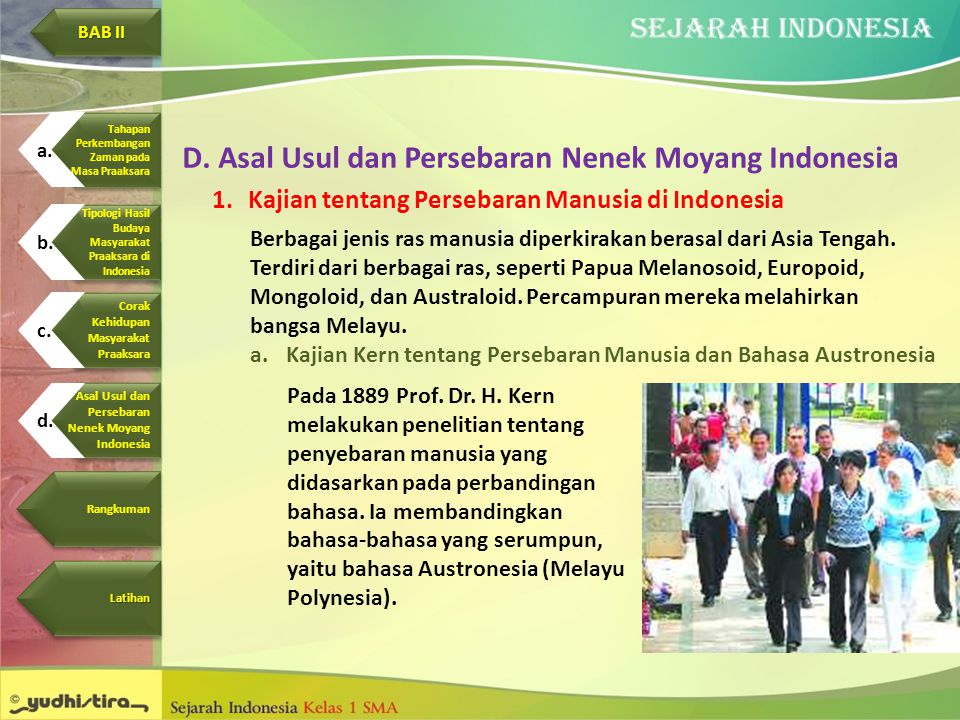 Asal Usul dan Persebaran Nenek Moyang Indonesia