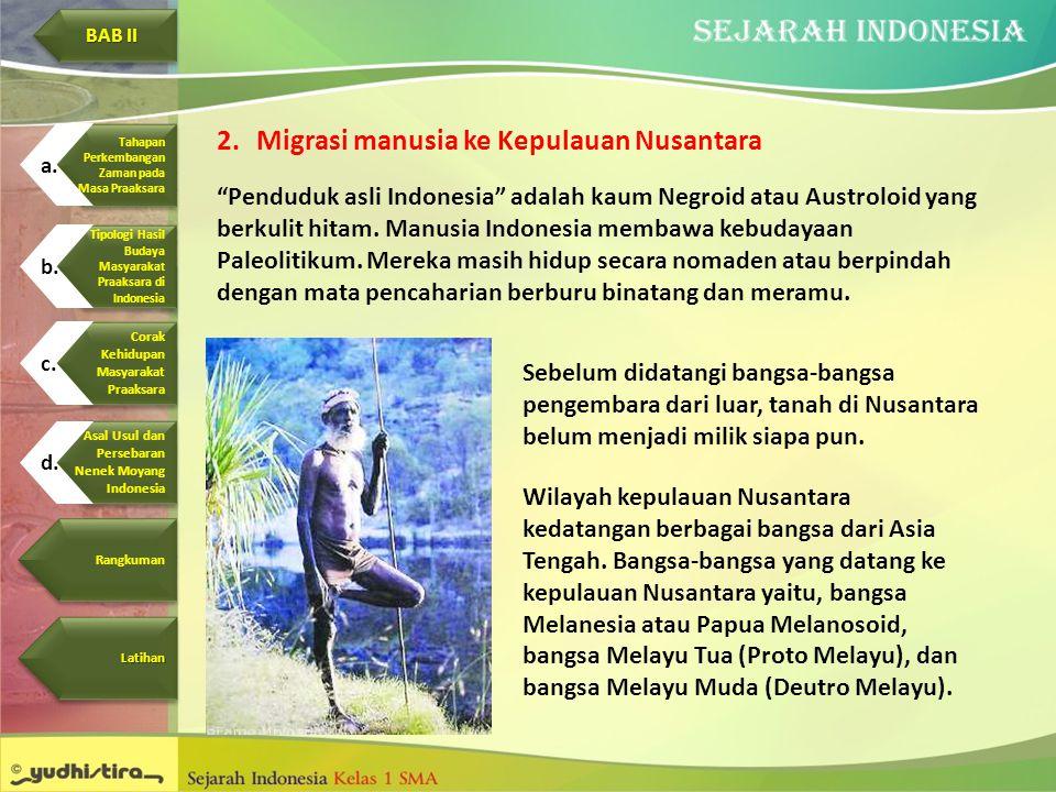 Migrasi manusia ke Kepulauan Nusantara