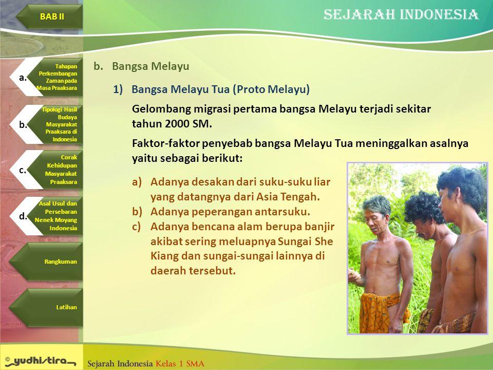Bangsa Melayu Tua (Proto Melayu)
