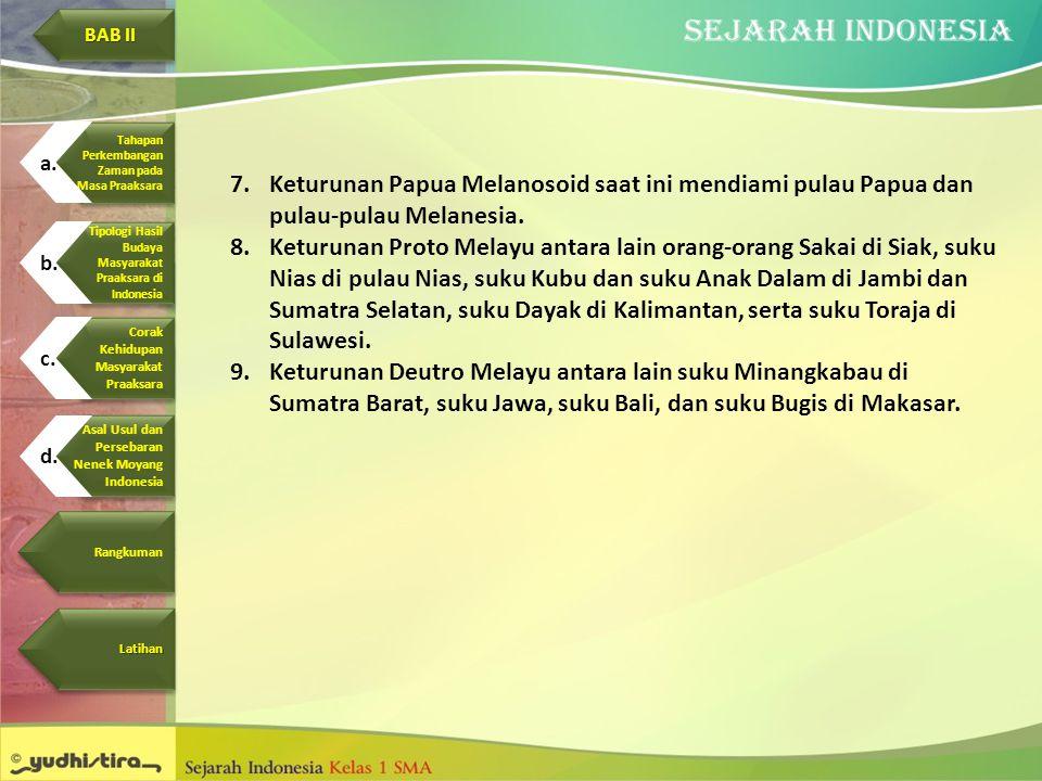 Corak Kehidupan. Masyarakat. Praaksara. BAB II. Asal Usul dan. Persebaran. Nenek Moyang. Indonesia.