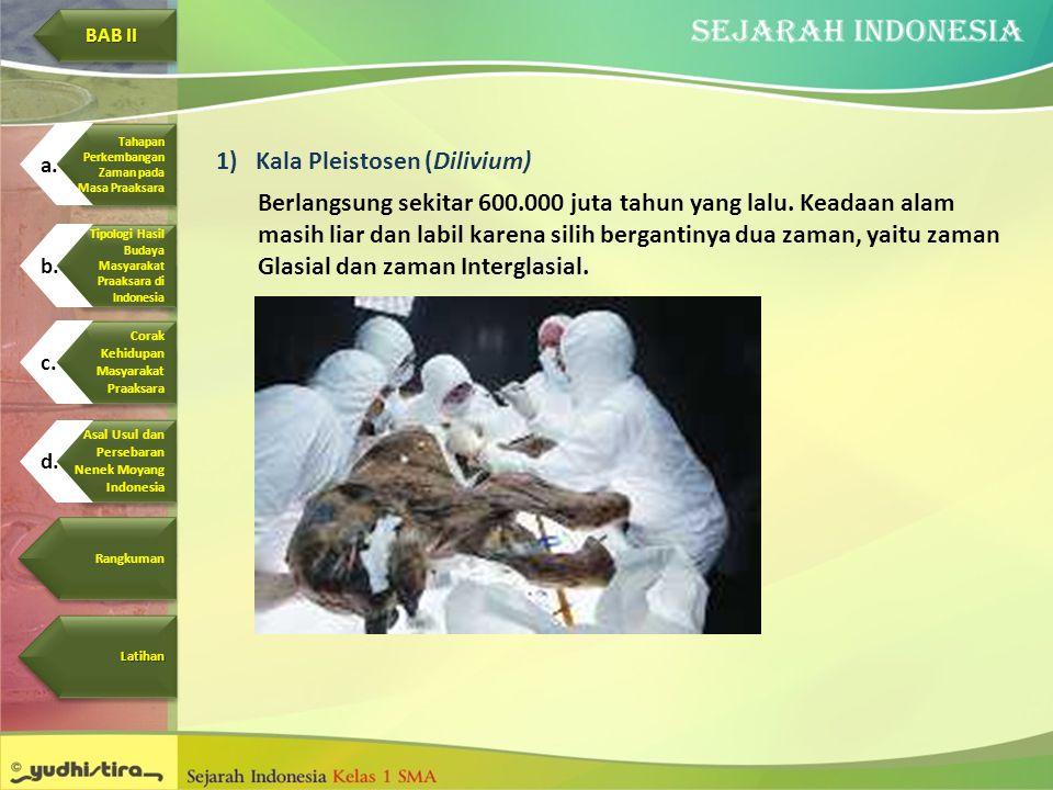 Kala Pleistosen (Dilivium)