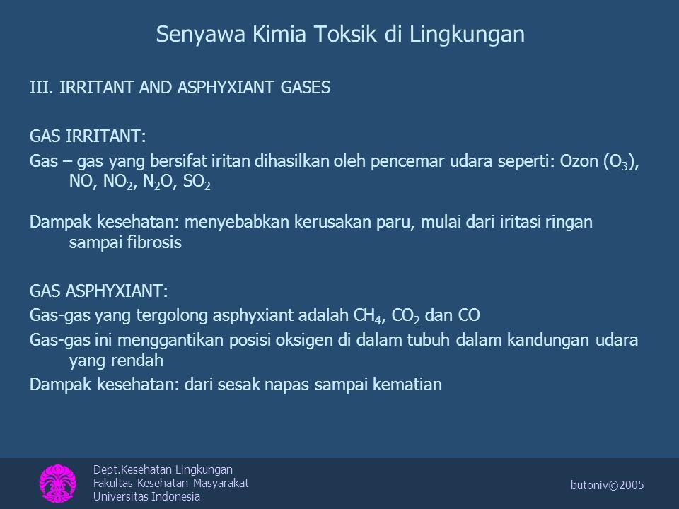 Senyawa Kimia Toksik di Lingkungan