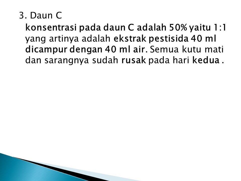 3. Daun C