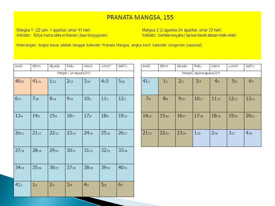 Mangsa 2, agustus-agustus 2010