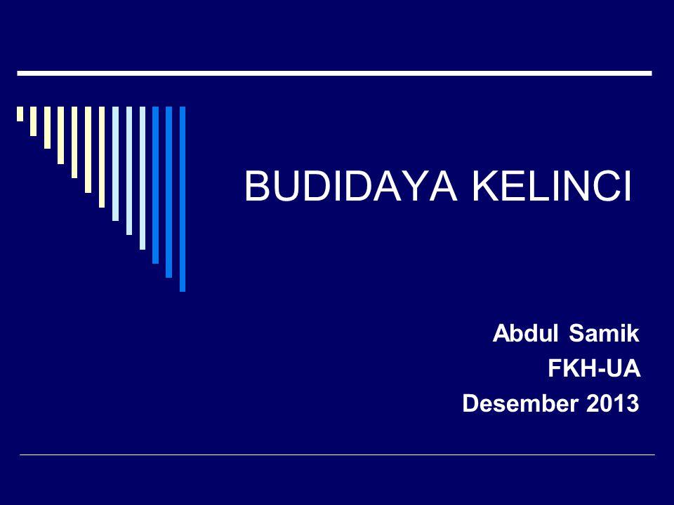 Abdul Samik FKH-UA Desember 2013