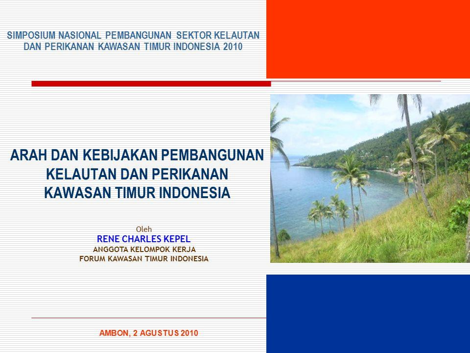 ANGGOTA KELOMPOK KERJA FORUM KAWASAN TIMUR INDONESIA