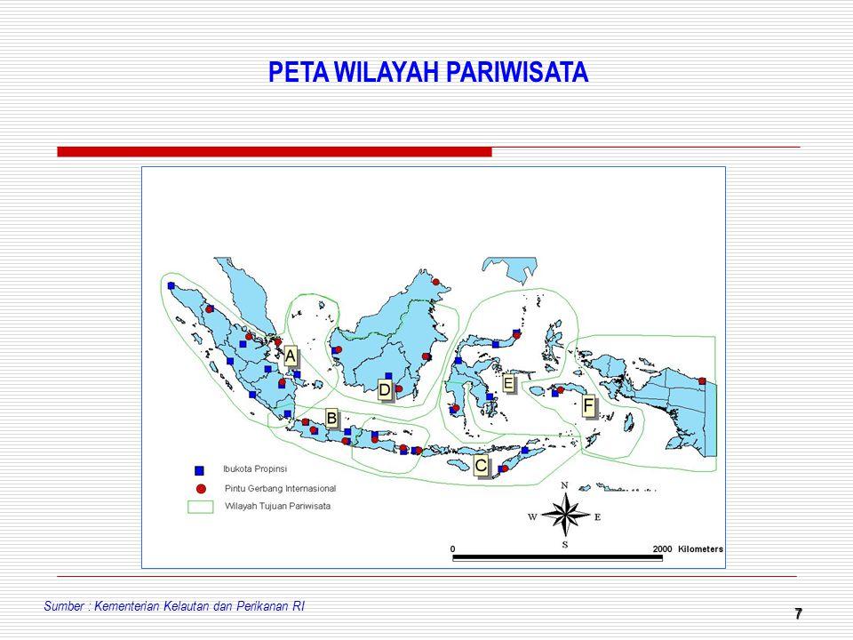 PETA WILAYAH PARIWISATA