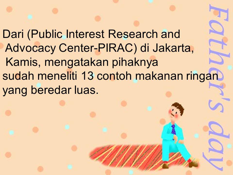 Dari (Public Interest Research and
