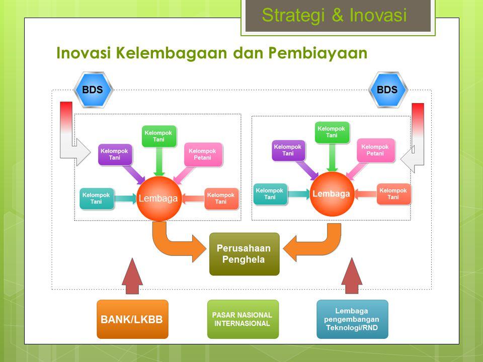 Inovasi Kelembagaan dan Pembiayaan