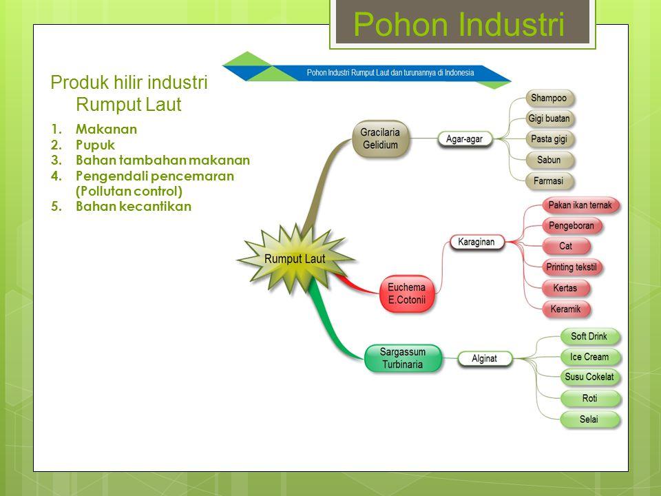 Produk hilir industri Rumput Laut