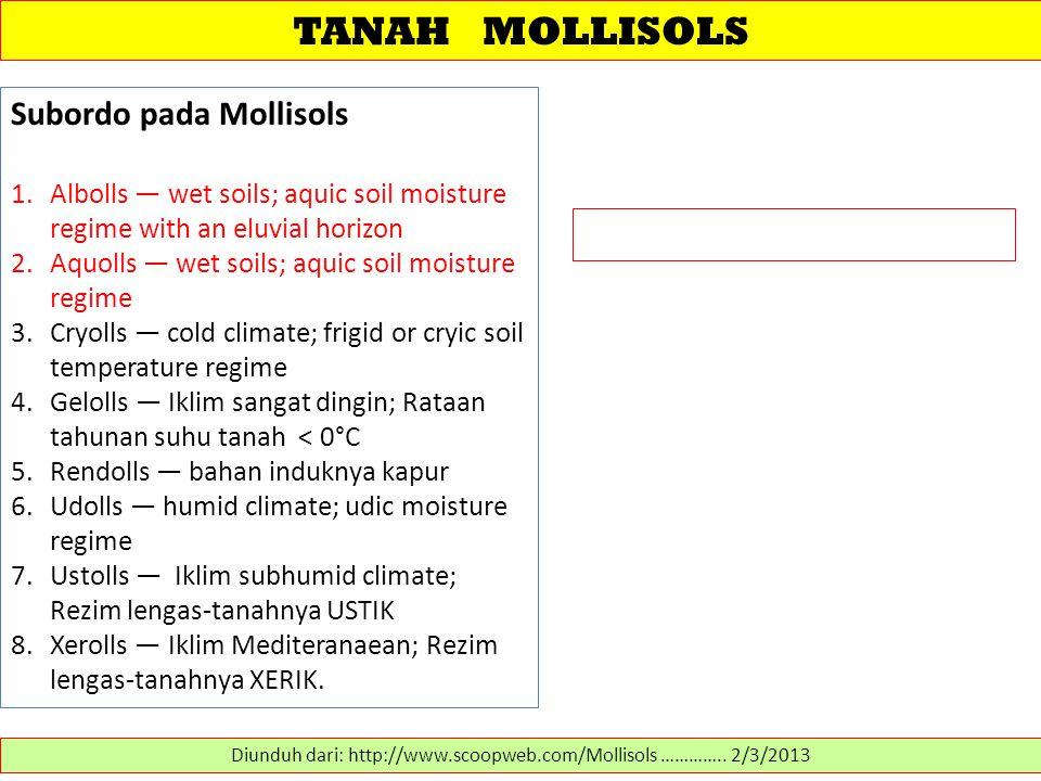 Diunduh dari: http://www.scoopweb.com/Mollisols ………….. 2/3/2013
