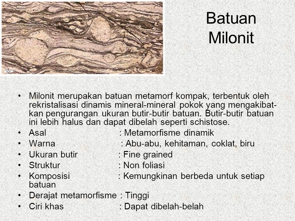 Batuan Milonit