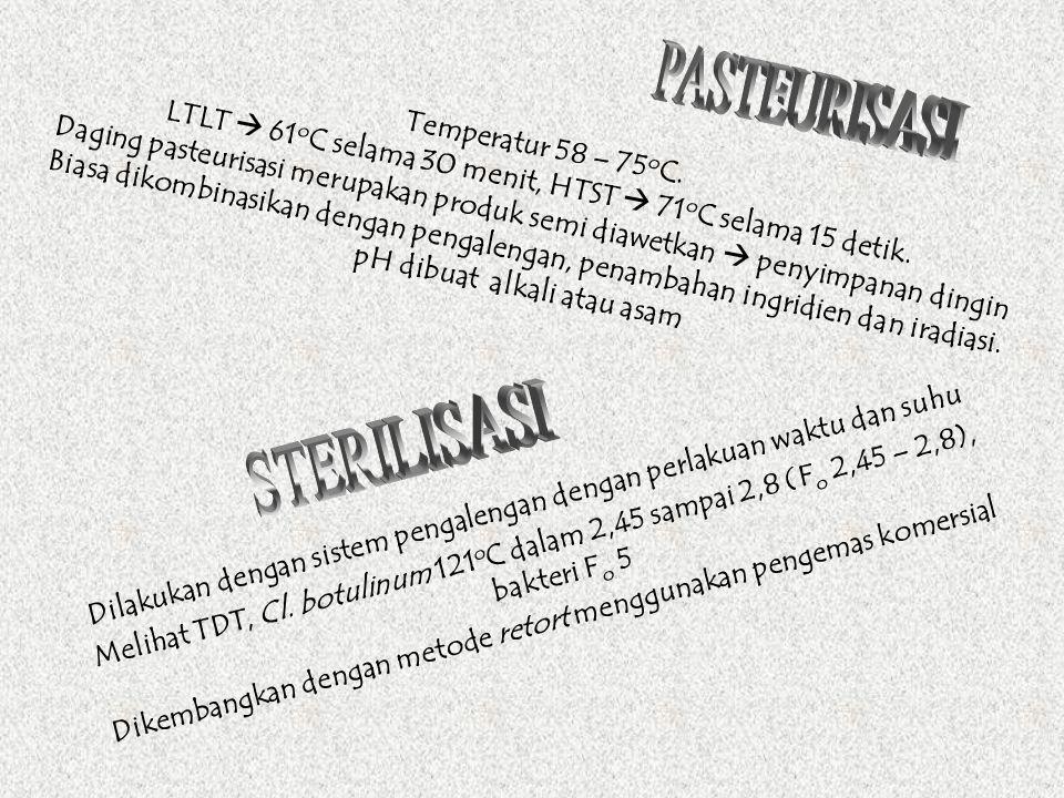 PASTEURISASI STERILISASI