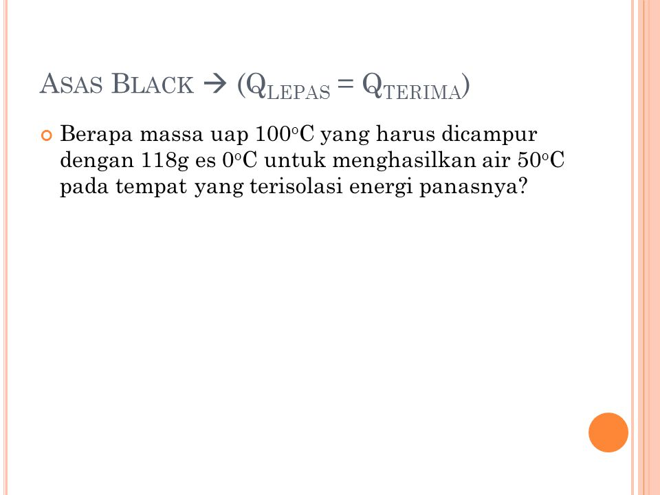 Asas Black  (Qlepas = Qterima)