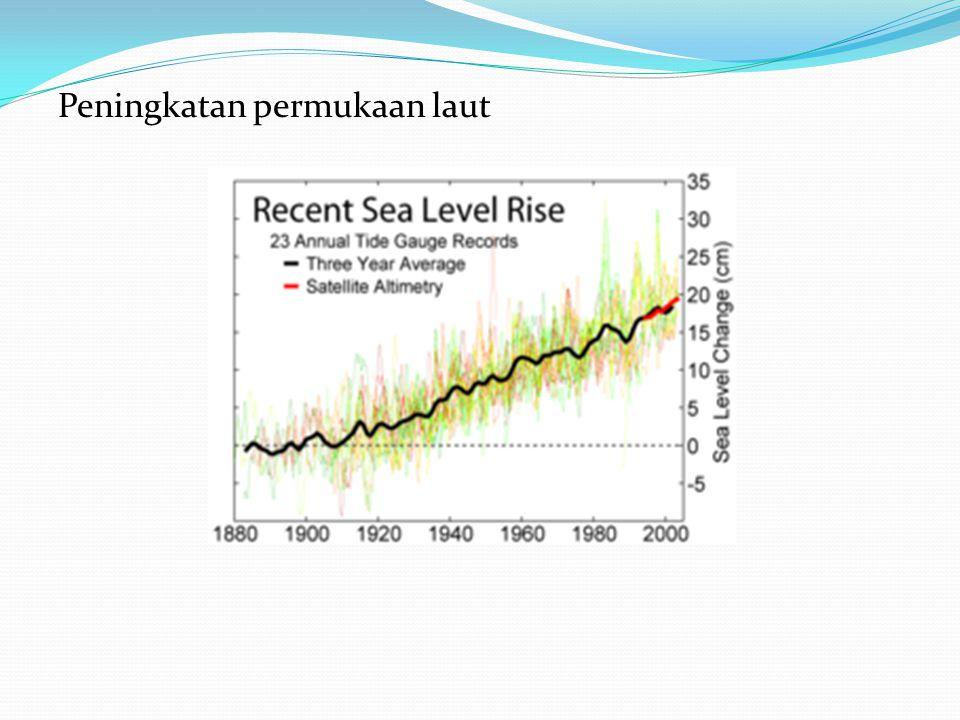 Peningkatan permukaan laut