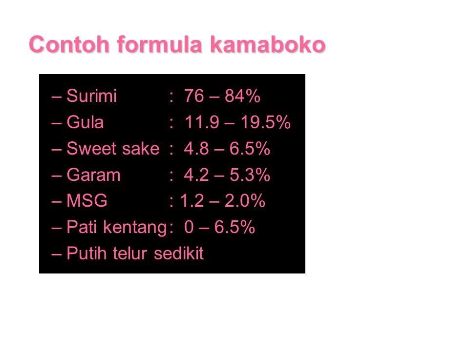 Contoh formula kamaboko