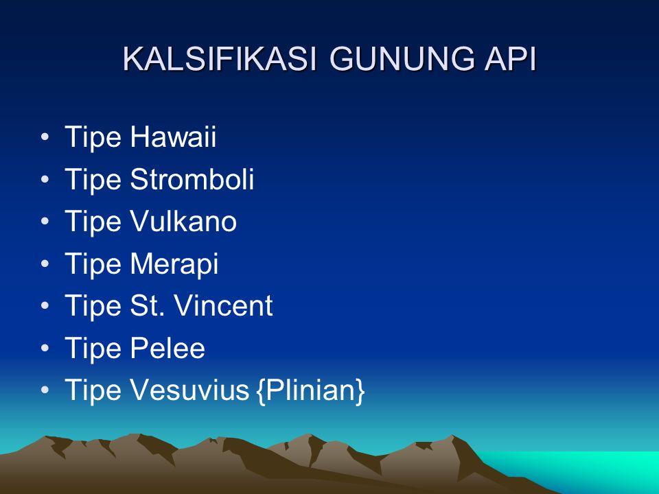 KALSIFIKASI GUNUNG API