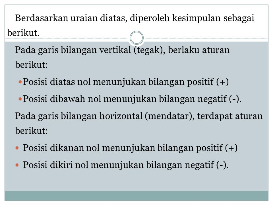 Berdasarkan uraian diatas, diperoleh kesimpulan sebagai berikut.