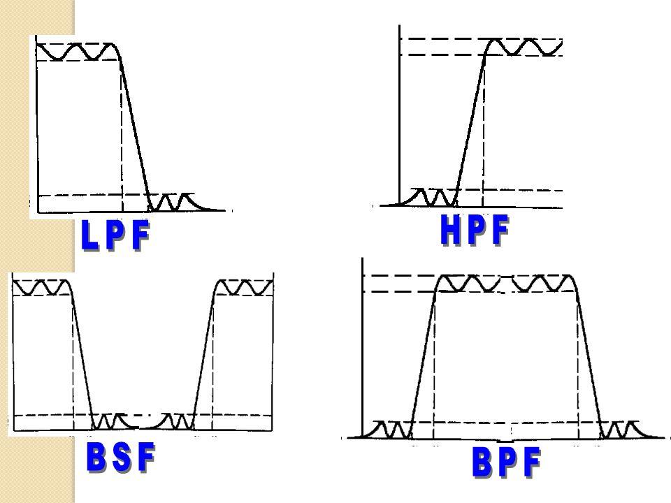 HPF LPF BSF BPF