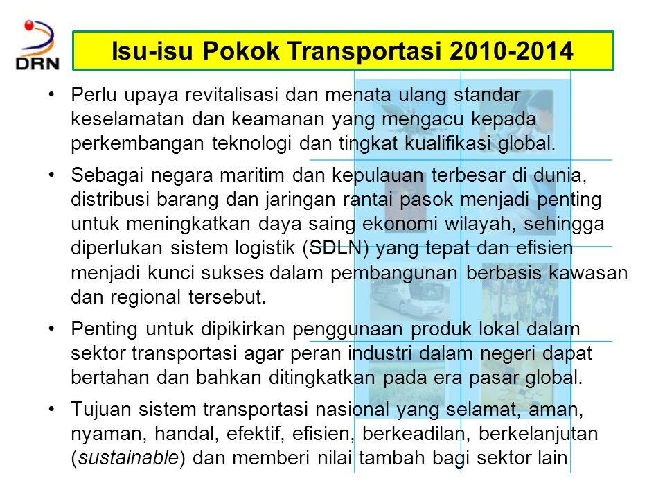 Isu-isu Pokok Transportasi 2010-2014