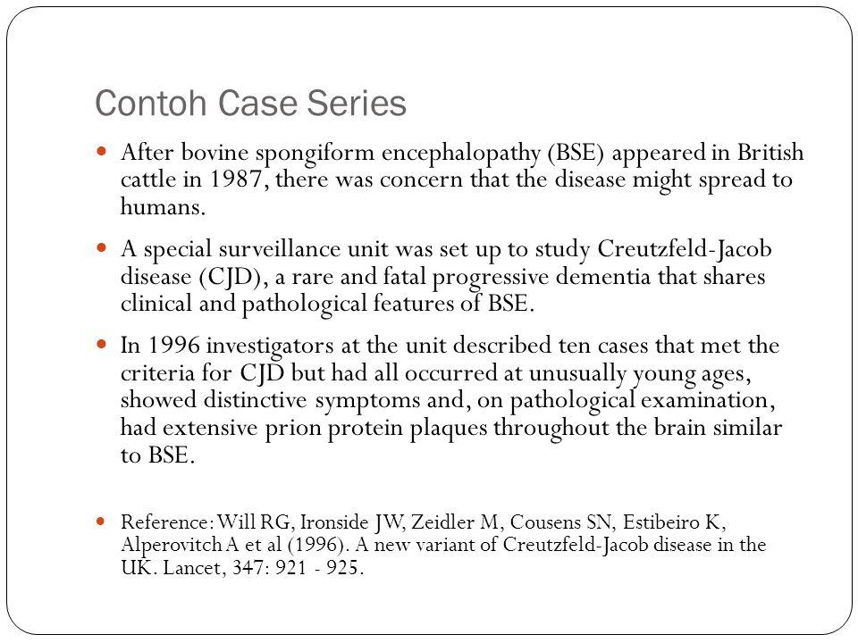 Contoh Case Series