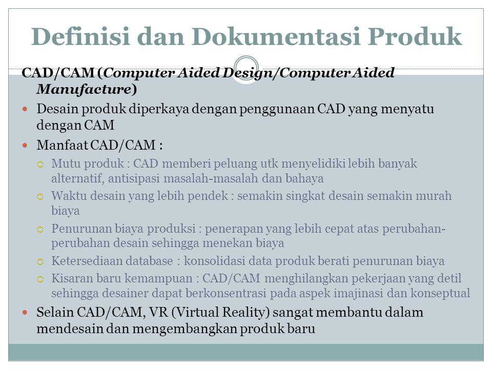 Definisi dan Dokumentasi Produk