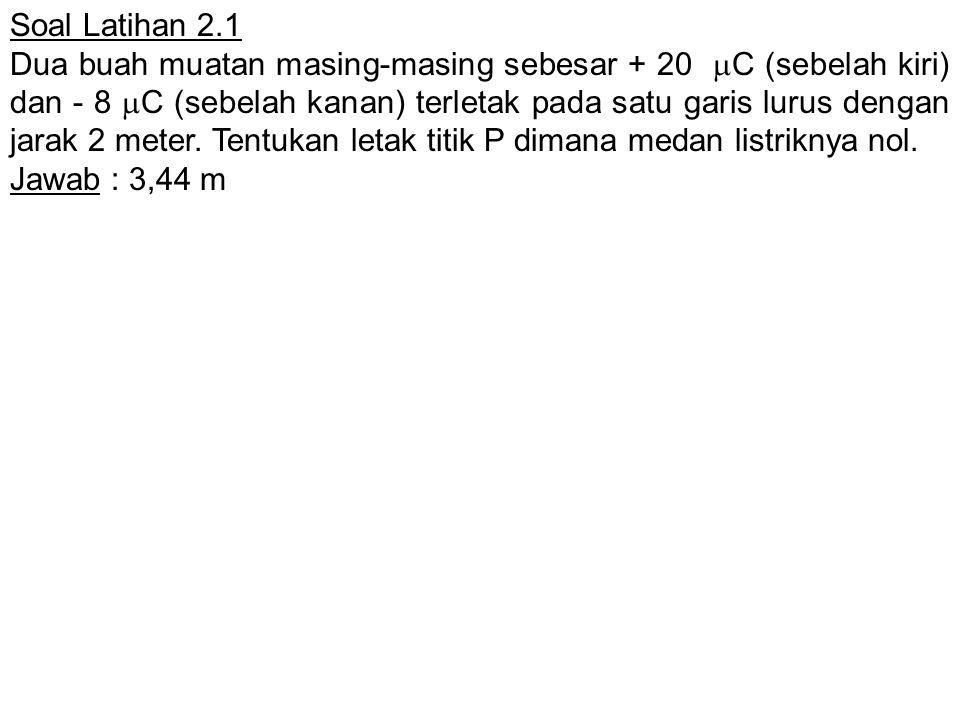 Soal Latihan 2.1