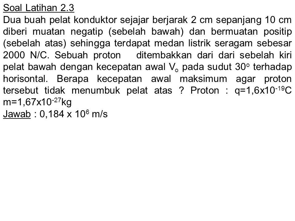 Soal Latihan 2.3