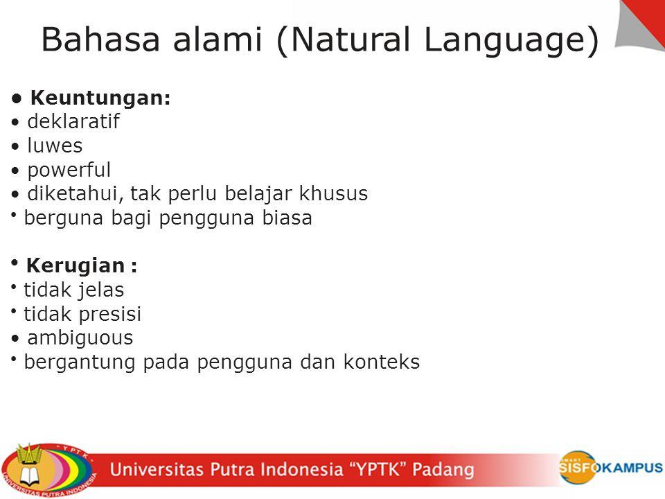 Bahasa alami (Natural Language)