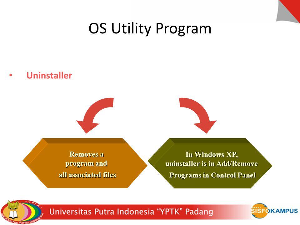 OS Utility Program Uninstaller