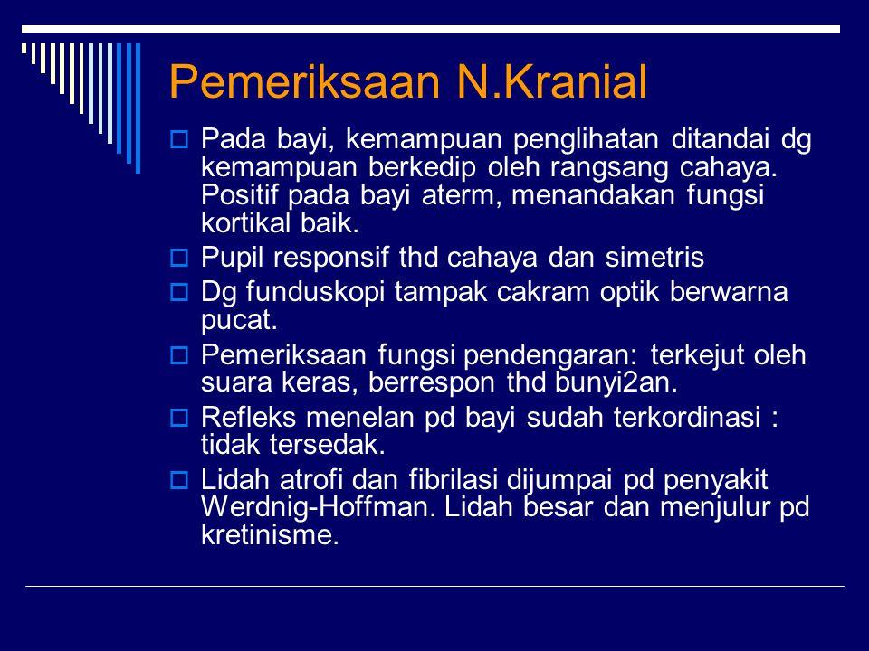 Pemeriksaan N.Kranial
