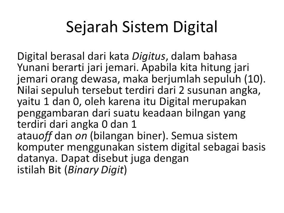 Sejarah Sistem Digital