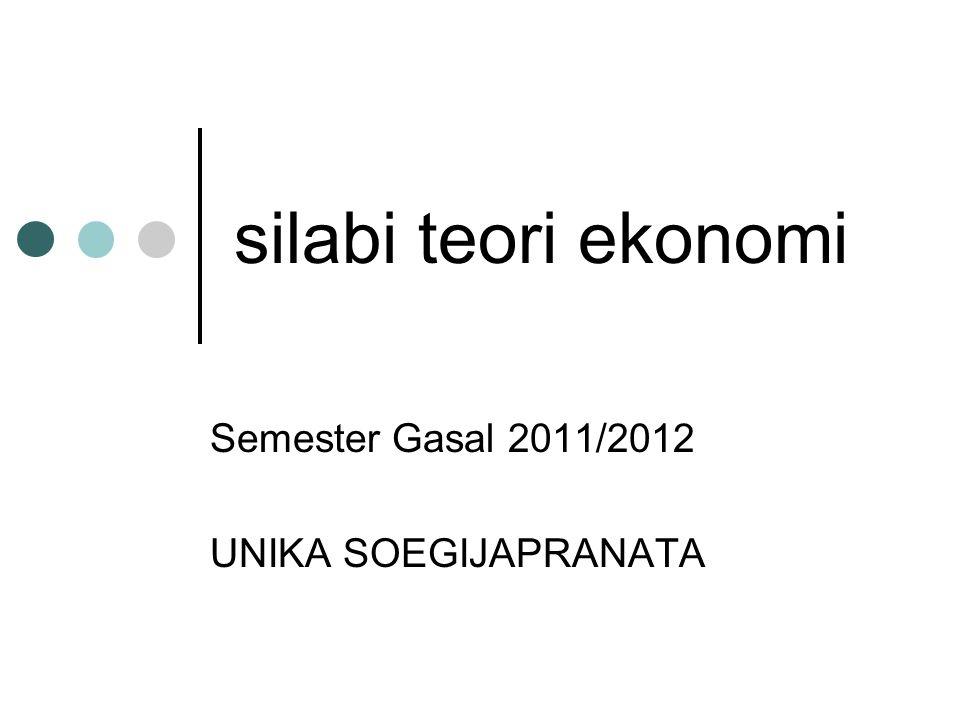 Semester Gasal 2011/2012 UNIKA SOEGIJAPRANATA