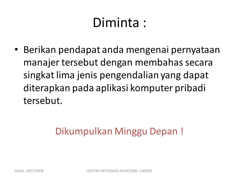 Diminta :
