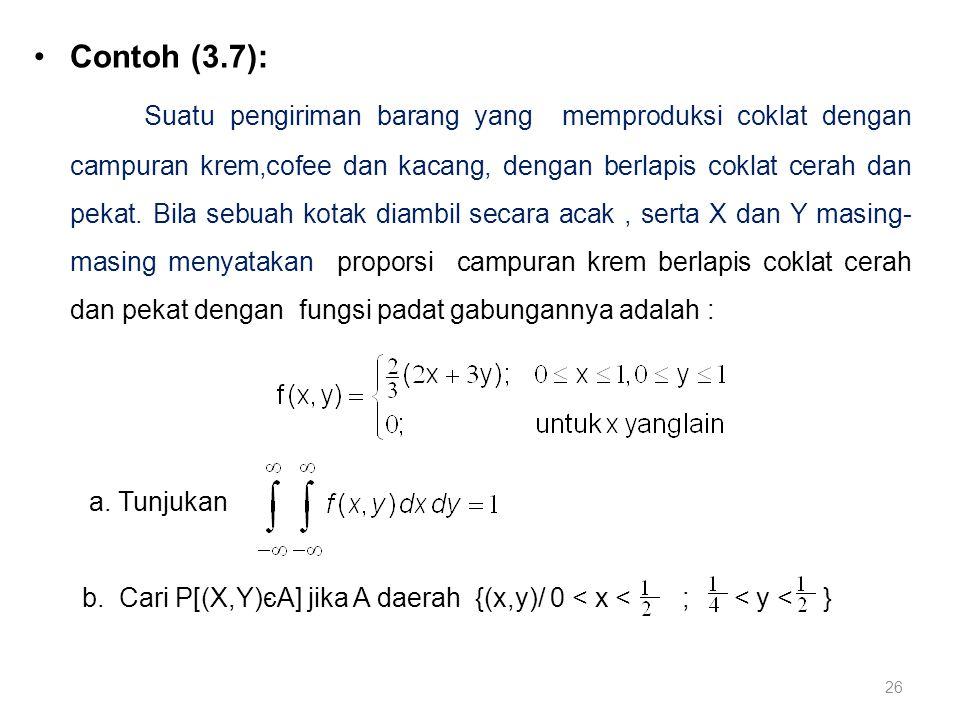 Contoh (3.7):