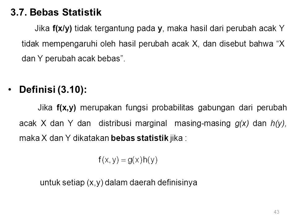 3.7. Bebas Statistik