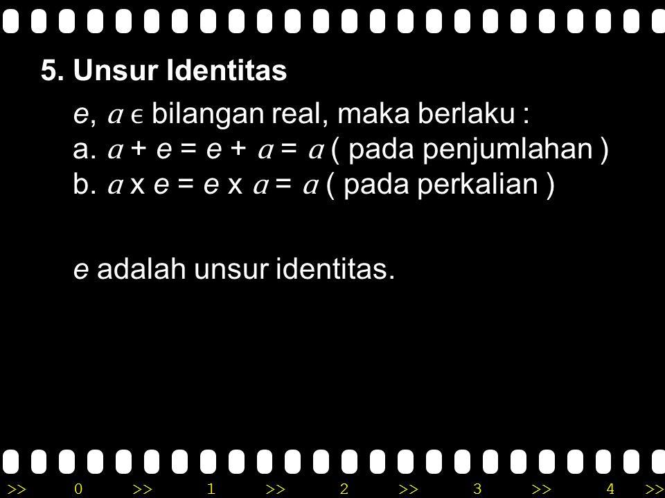 5. Unsur Identitas