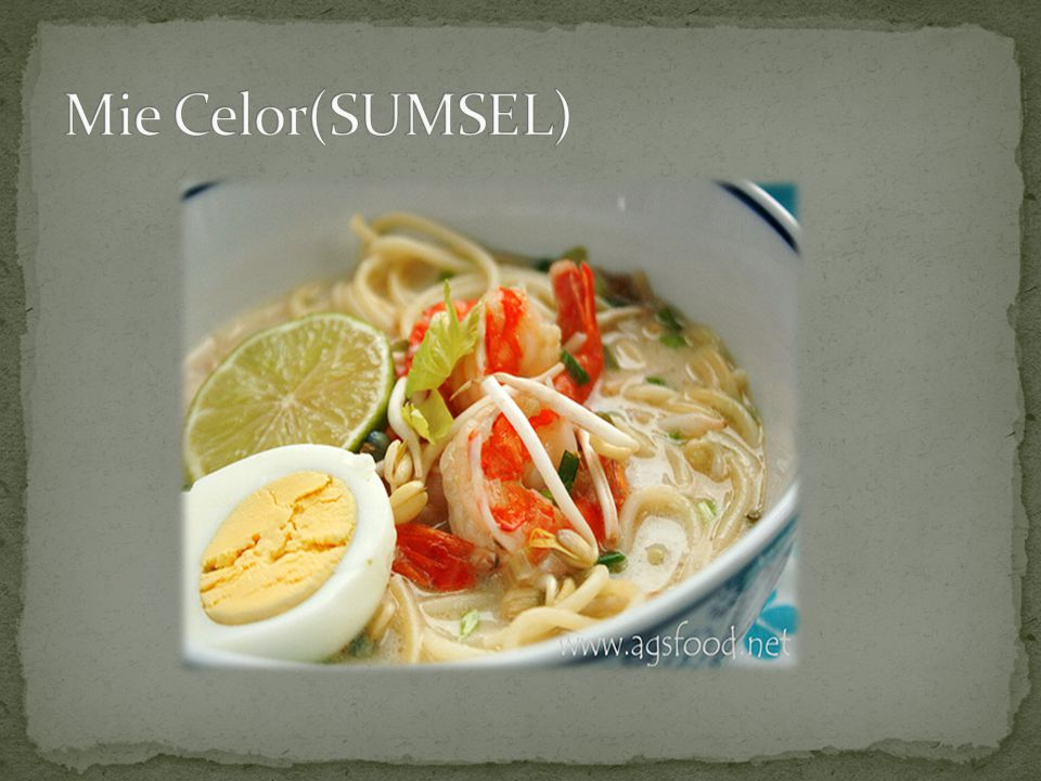 Mie Celor(SUMSEL)