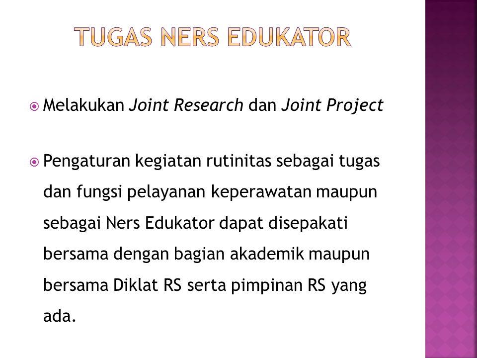 TUGAS NERS EDUKATOR Melakukan Joint Research dan Joint Project