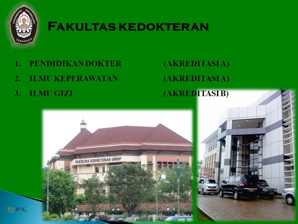 Fakultas kedokteran PENDIDIKAN DOKTER (AKREDITASI A)