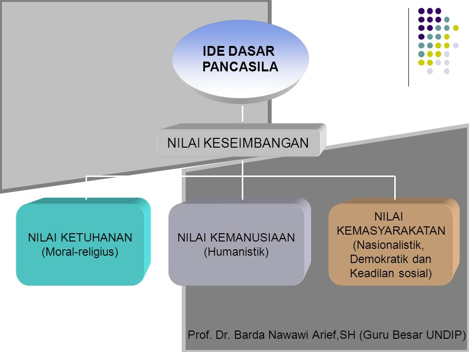 Prof. Dr. Barda Nawawi Arief,SH (Guru Besar UNDIP)