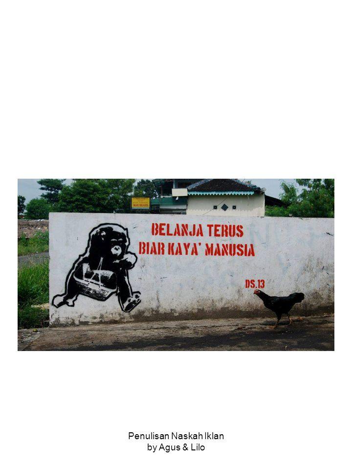 Penulisan Naskah Iklan by Agus & Lilo