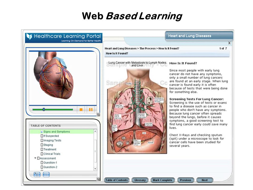 Web Based Learning