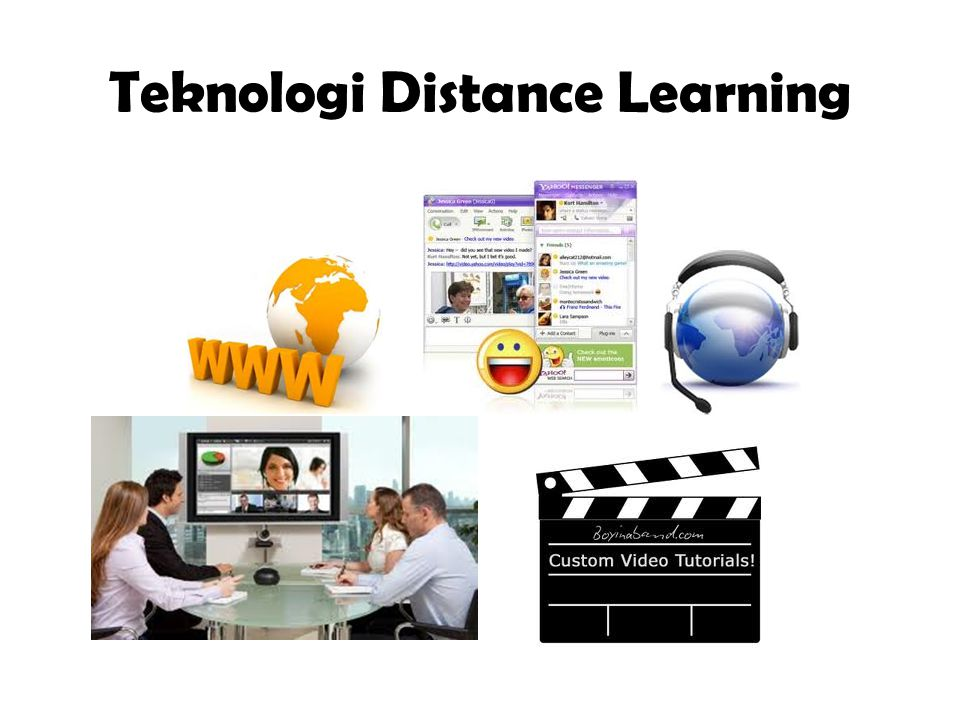 Teknologi Distance Learning