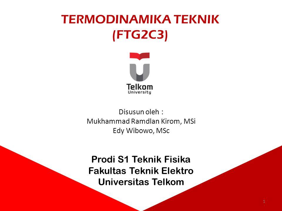 TERMODINAMIKA TEKNIK (FTG2C3)