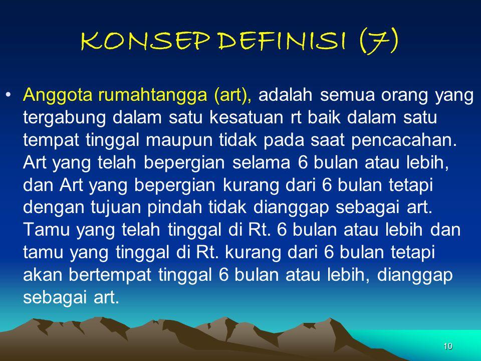 KONSEP DEFINISI (7)