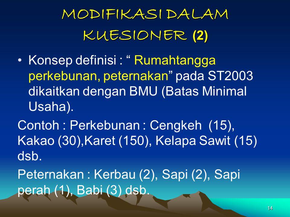 MODIFIKASI DALAM KUESIONER (2)