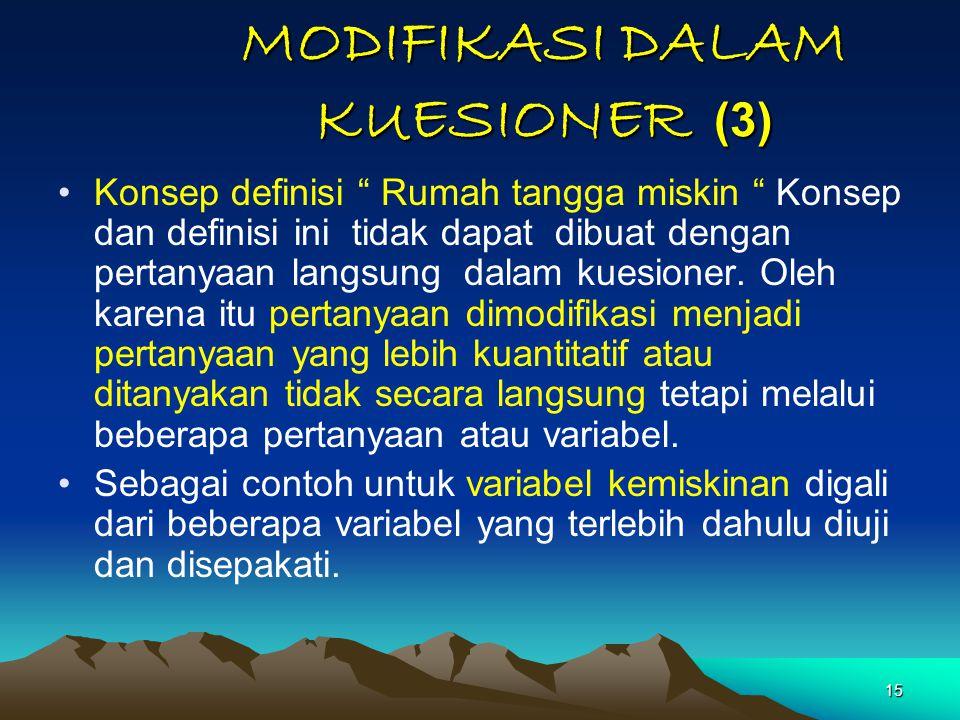 MODIFIKASI DALAM KUESIONER (3)
